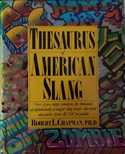 9780060161408: Thesaurus of American slang