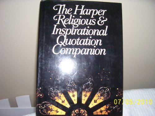 The Harper Religious and Inspirational Quotation Companion: Pepper, Margaret