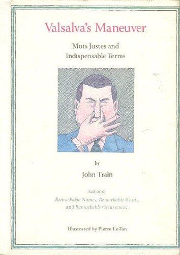 VALSALVA'S MANEUVER - mots justes and indispensable terms: TRAIN, JOHN