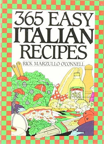 9780060163105: 365 Easy Italian Recipes. a John Boswell Associates Book (365 Ways Series)