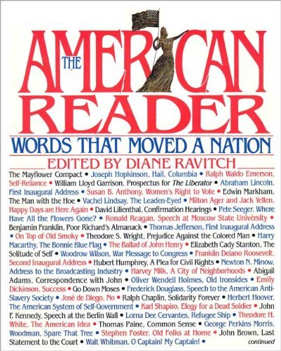 9780060164805: The American Reader: Words That Moved a Nation