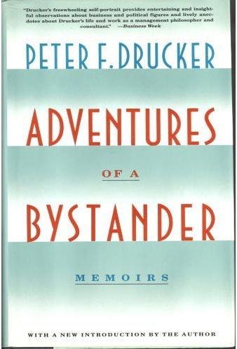 9780060165659: Adventures of a Bystander