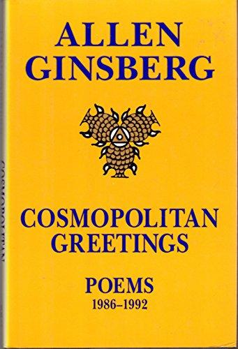 9780060167707: Cosmopolitan Greetings: Poems, 1986-1992