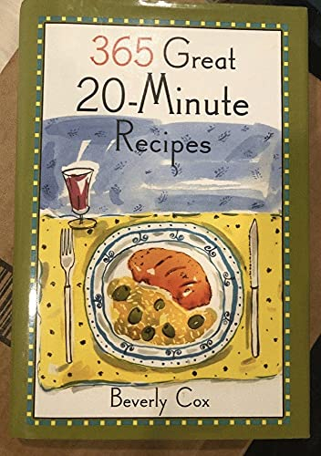 9780060169626: 365 Great 20-Minute Recipes