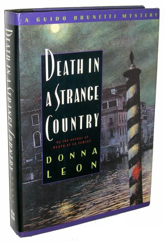 Death in a Strange Country ***SIGNED***: Donna Leon