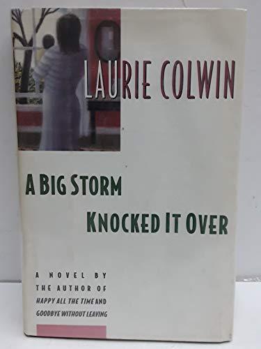 9780060170196: A Big Storm Knocked It over: A Novel