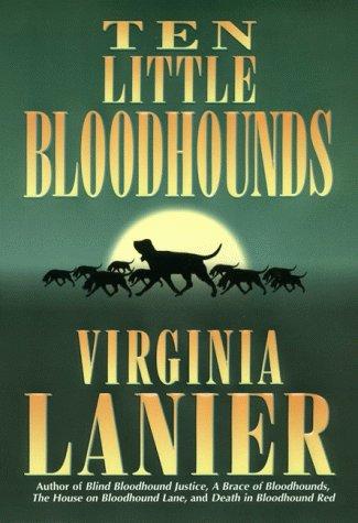 9780060175481: Ten Little Bloodhounds