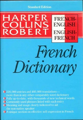 9780060178000: French Dictionary