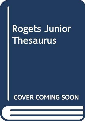 9780060179045: Rogets Junior Thesaurus