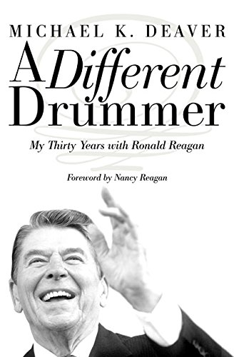 9780060185619: A Different Drummer LP: Thirty Years with Ronald Reagan