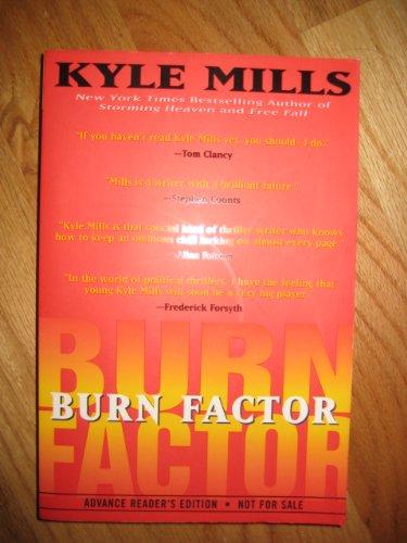9780060186234: Burn factor