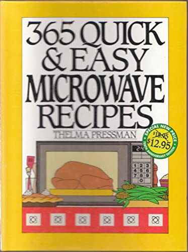 9780060186579: 365 Quick & Easy Microwave Recipes