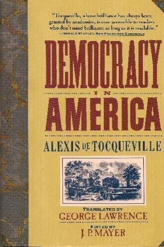 9780060187217: Democracy in America