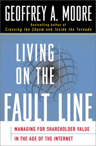 9780060189815: Living on the Fault Line: Managing for Shareholder Value in Any Economy