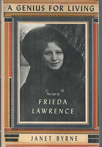 9780060190019: A Genius for Living: The Life of Frieda Lawrence