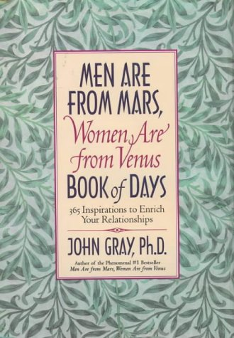 9780060192778: Men Are from Mars, Women Are from Venus Book of Days: 365 Inspirations to Enrich Your Relationships