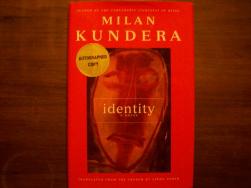 9780060192785: Identity: A Novel (Signed)
