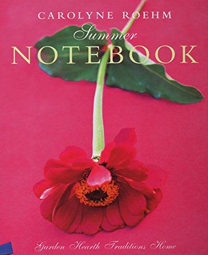9780060193874: Summer Notebook (Garden Hearth Traditions Home)