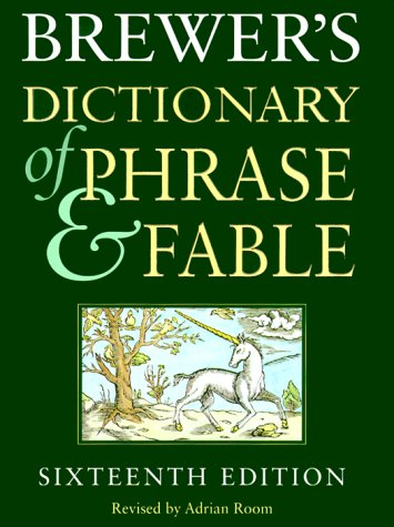 9780060196530: Brewers' Dictionary of Phrase and Fable