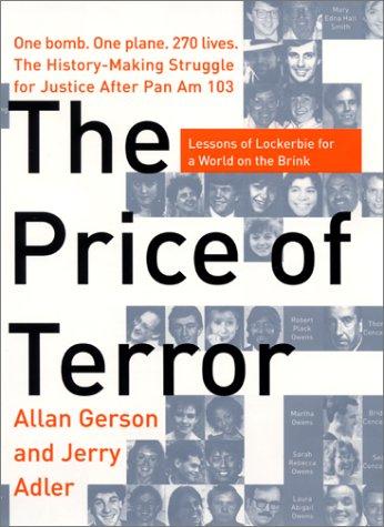 9780060197612: The Price of Terror