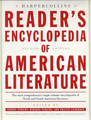 9780060198152: The HarperCollins Reader's Encyclopedia of American Literature