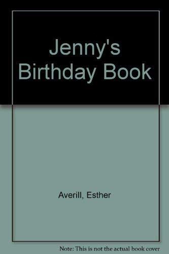 Jenny's Birthday Book (0060202513) by Averill, Esther Holden