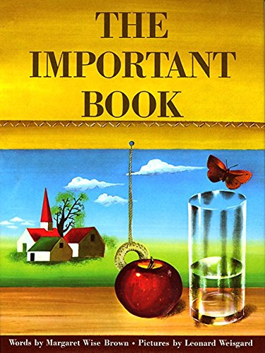 9780060207212: The Important Book