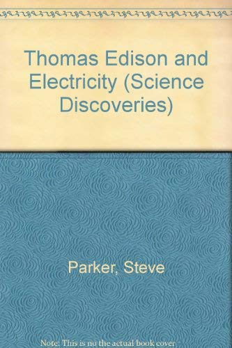 9780060208592: Thomas Edison and Electricity (Science Discoveries)