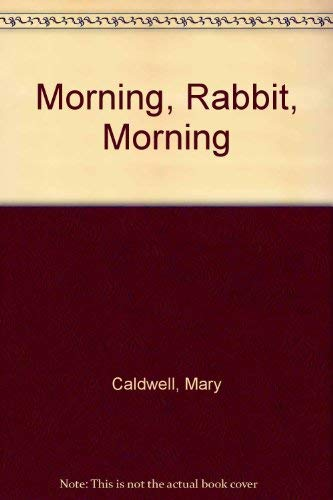 9780060209391: Morning, Rabbit, Morning
