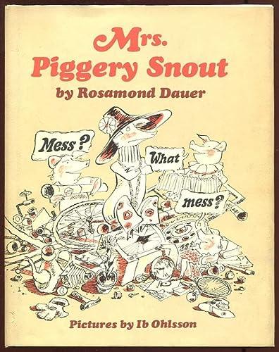 9780060214067: Mrs. Piggery Snout