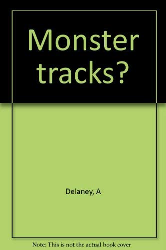 9780060215880: Monster tracks?