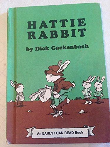 9780060219390: Hattie Rabbit