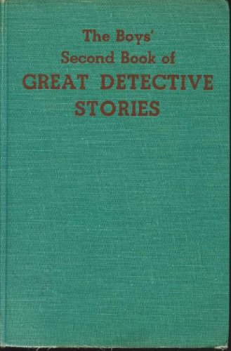 9780060222550: The Boys' Second Book of Great Detective Stories