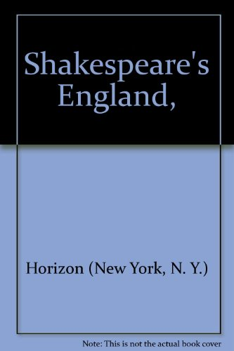 9780060225902: Shakespeare's England,