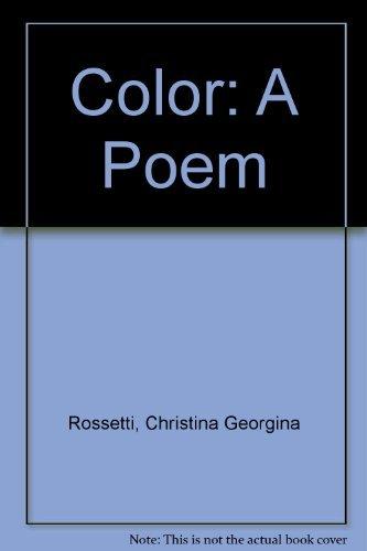 9780060226268: Color: A Poem