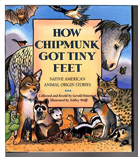 How Chipmunk Got Tiny Feet: Native American Animal Origin Stories: Hausman, Gerald