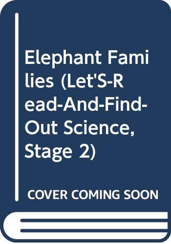 9780060229481: Elephant Families
