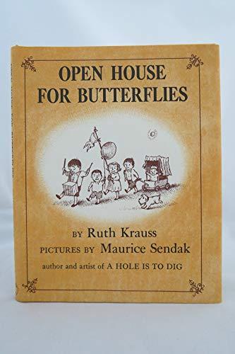 9780060234454: Open House for Butterflies
