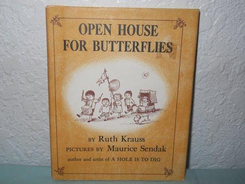 9780060234461: Open House for Butterflies