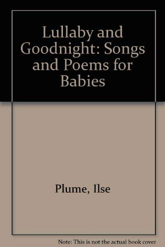9780060235017: Lullaby and Goodnight: Songs and Poems for Babies