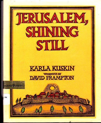 9780060235482: Jerusalem, Shining Still
