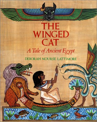 9780060236366: The Winged Cat: A Tale of Ancient Egypt
