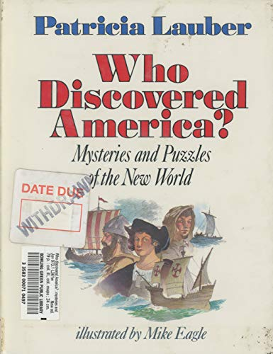 9780060237295: Who Discovered America? (Mysteries and Puzzles of the New World)