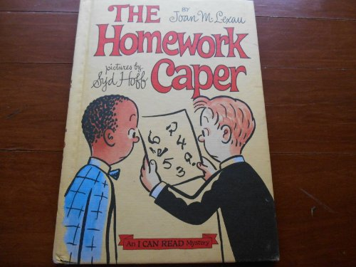 9780060238568: The Homework Caper (I Can Read Mystery)