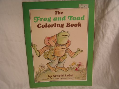 9780060239787: The Frog and Toad Coloring Book