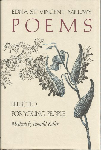 9780060242183: Edna st Vincent Millays: Poems Selected for Young People