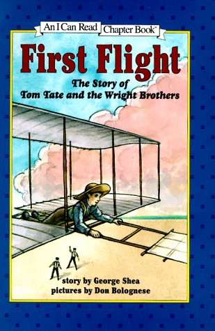 9780060245030: First Flight: The Story of Tom Tate and the Wright Brothers