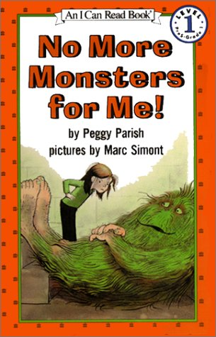 9780060246587: No More Monsters for Me! (I Can Read Book 1)