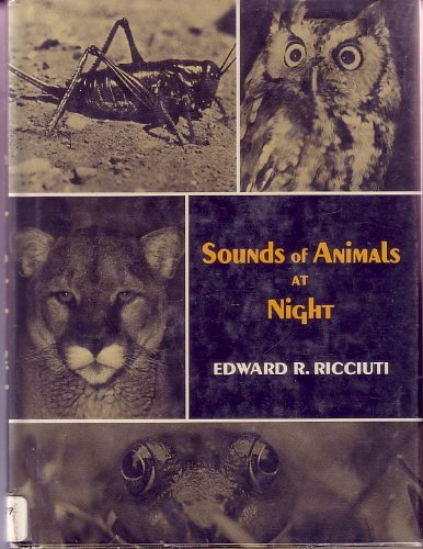 9780060249816: Sounds of Animals at Night