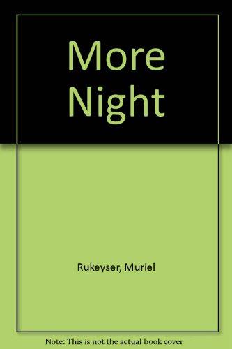 9780060251277: More Night